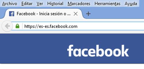 Iniciar Sesión Facebook en español