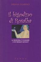 copertina del libro il bigodino di rosalba, oriana guarino