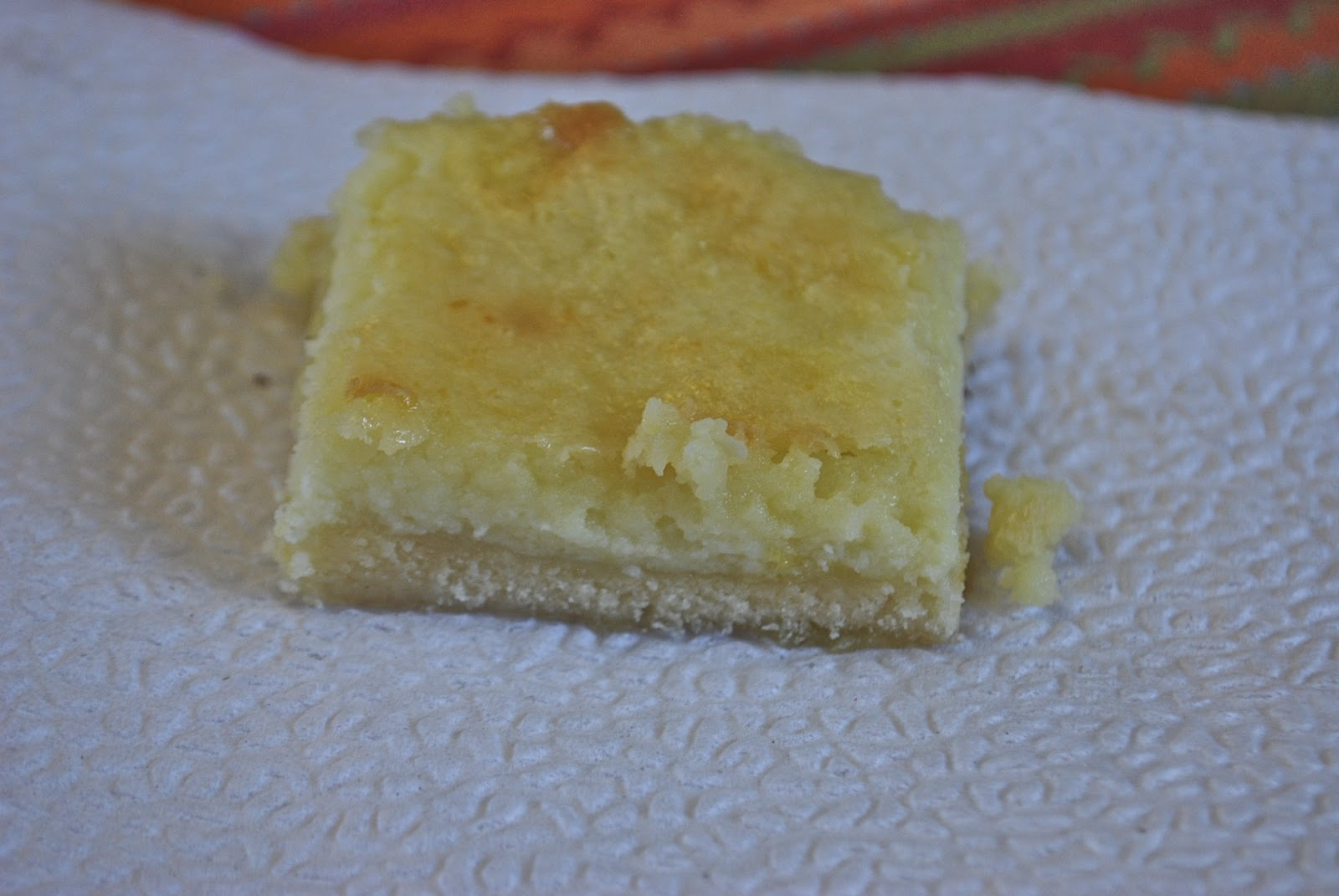 "Point-less"" Meals: Lemon Cheesecake Bars"