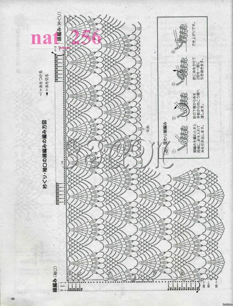 Японские модели крючком Записи в рубрике японские модели крючком 36
