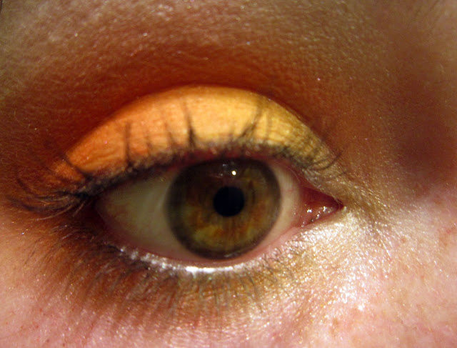 make up kiko orange