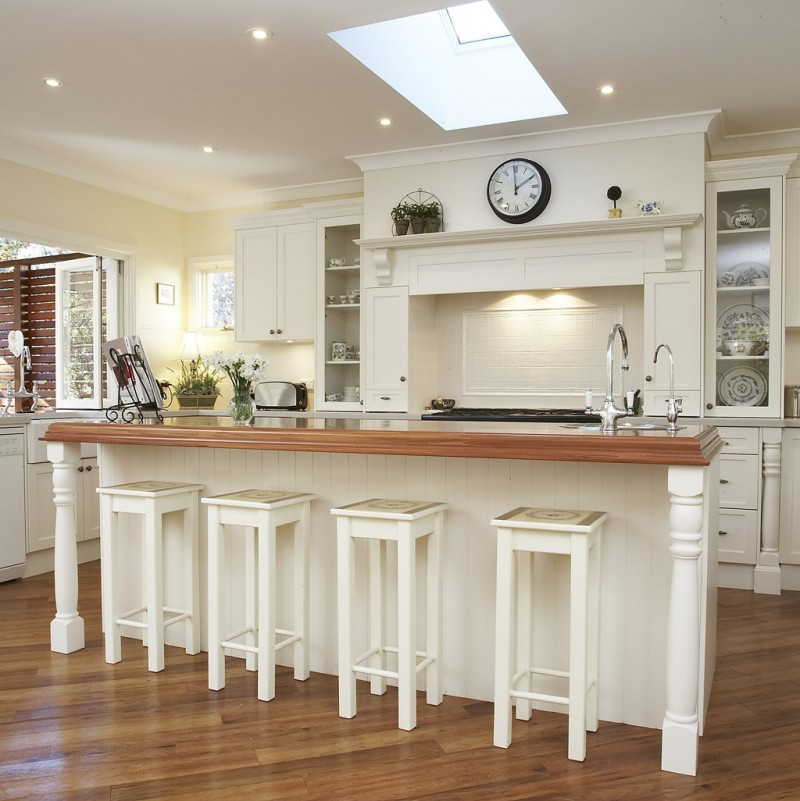 White French Country Kitchen Ideas