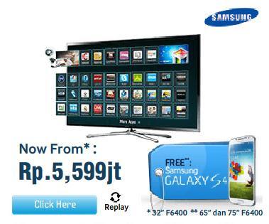 Beli Samsung Smart Tv Gratis Samsung Galaxy S4