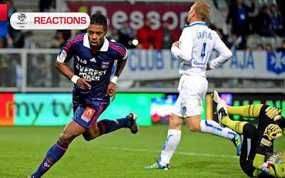 AJ Auxerre 0 - 3 Olympique Lyon (2)