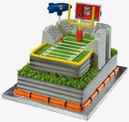 nfl football cake