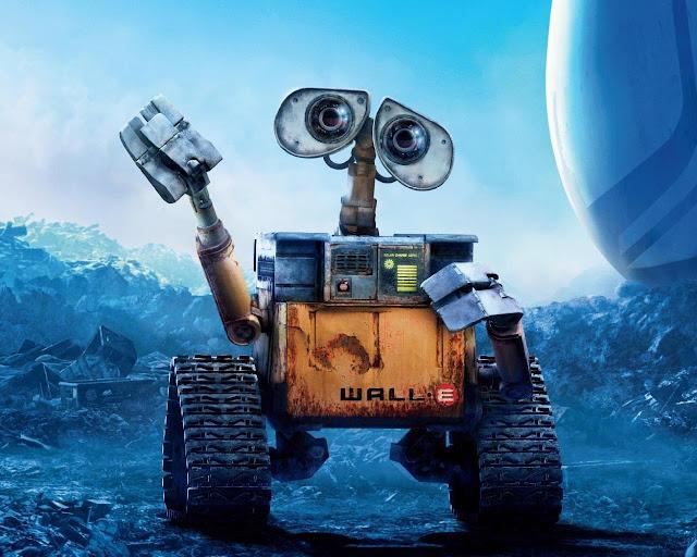 WALL-E, ROBOT LIMPIADOR
