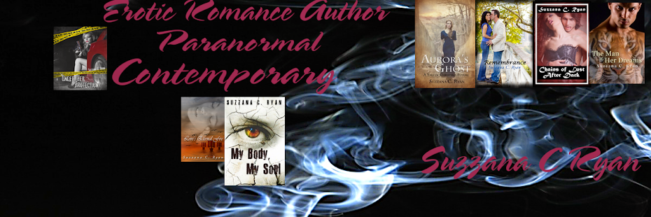 Suzzana C Ryan Erotic Romance Author