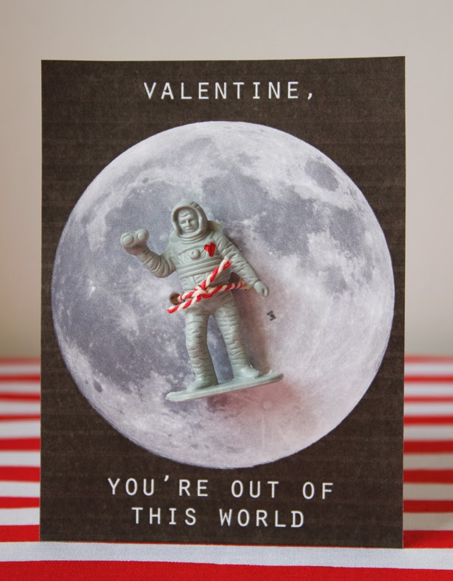 Astronaut Valentine from Dandee Designs