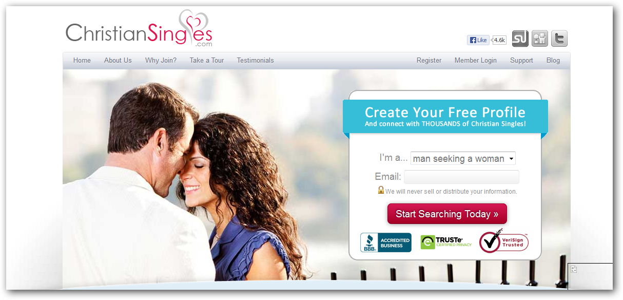 How to start a dating website profile