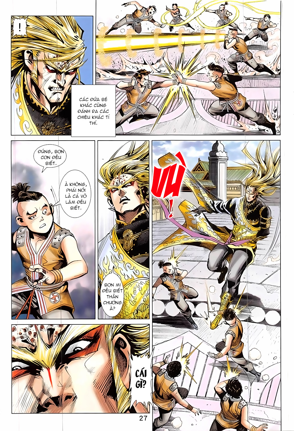 Thần Chưởng chap 24 – End Trang 27 - Mangak.info