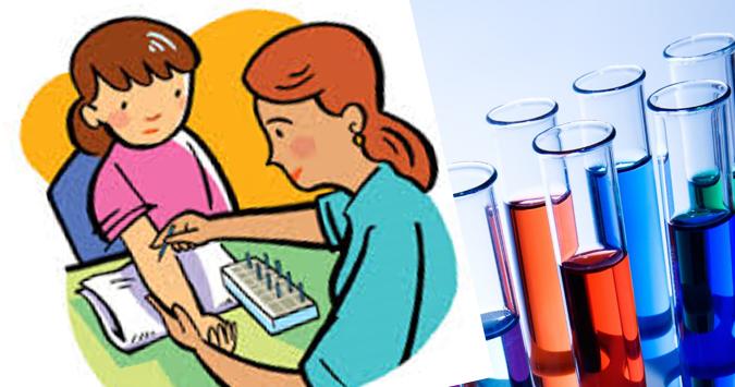 Exame de sangue para alergia alimentar