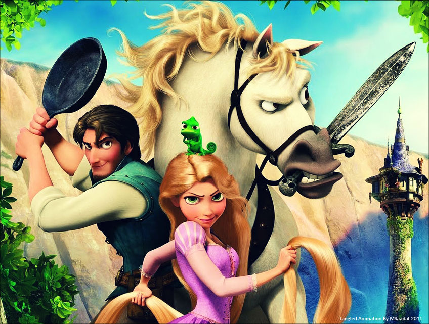 Disney tangled wallpapers 2 ~ wallpapers for Disney ...