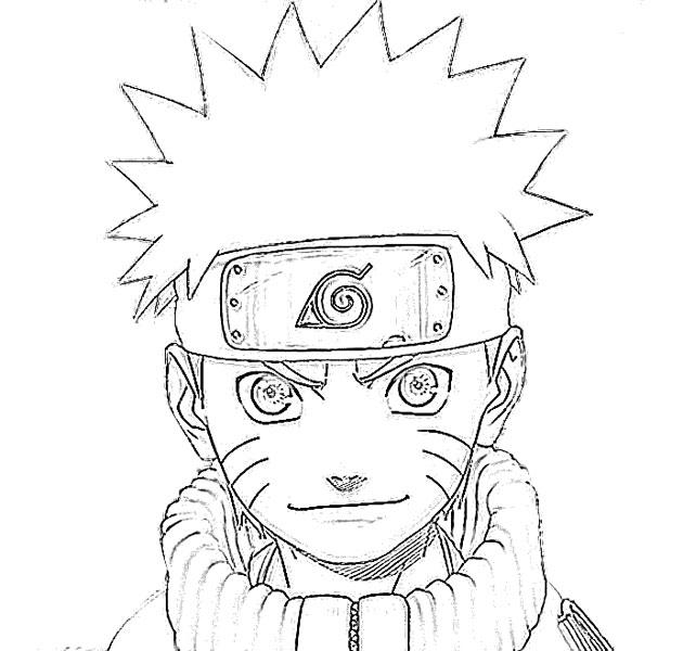Naruto Drawings: Naruto Uzumaki Cartoon Sketch