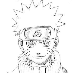 Naruto Uzumaki Sketch