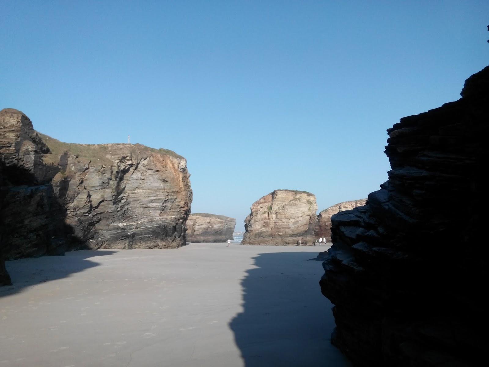 playa de las catedrales coordenadas