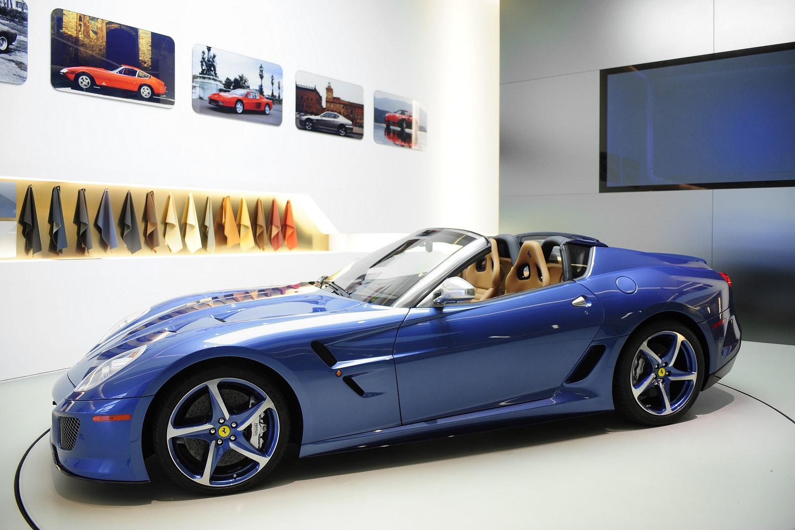 Here is the 2012 Ferrari Superamerica 45 Supercar-Garage Car