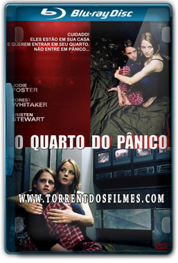 O Quarto do Pânico (2002) Torrent – Dublado Bluray Rip 720p