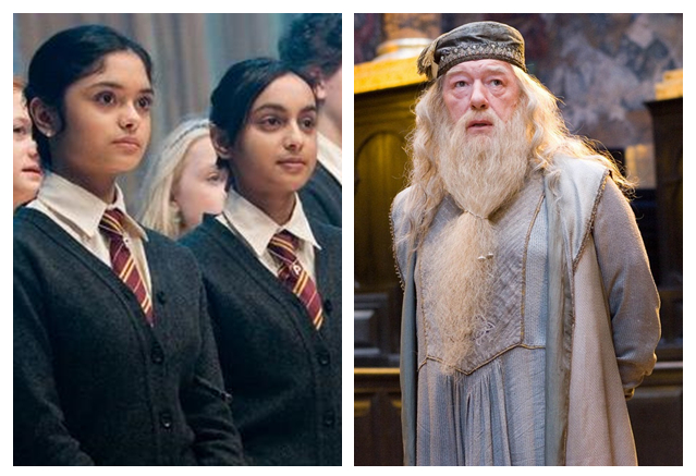 patil twins sisters dumbledore yule ball uw