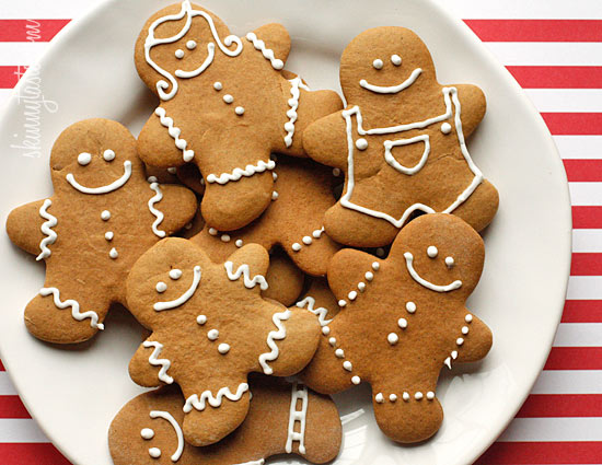 Low-Fat Gingerbread Cookies | Skinnytaste