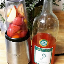 ' Blending Moscato Sangria - Blended Fruit