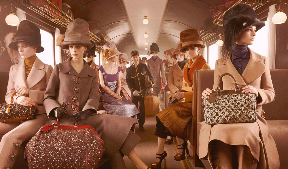 Louis Vuitton Fall/Winter 2012 campaign photographed by Steven Meisel via fashioned by love british fashion blog