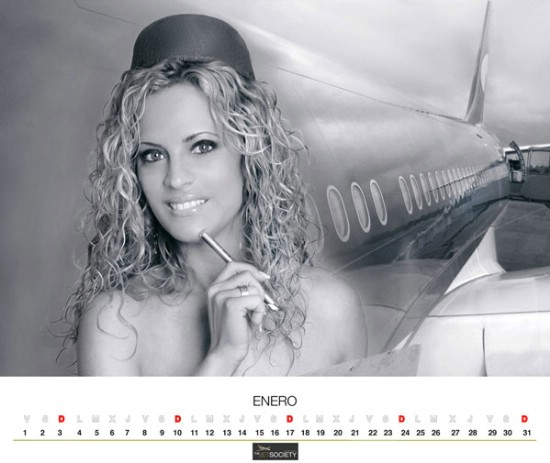 bombastic airlines - Air Comet Kalender 2009