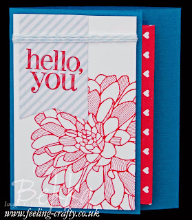Sweetheart Treat Bag Gift Holder from UK Stampin' Up! Demonstrator Bekka - check out her blog here