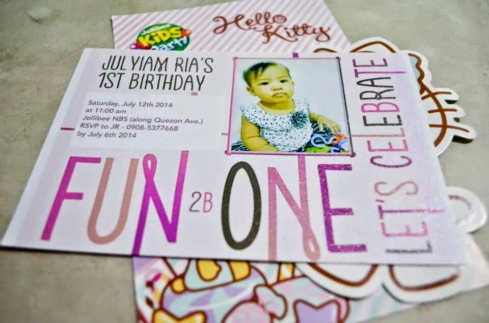 life is like a box of chocolates...: Julyiam\'s 1st bday celebration...