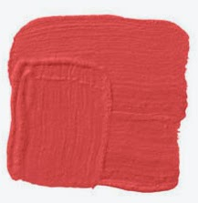 Geranium: U201cIt Was Not So Much The Color, But How And Where I Used It. I  Painted A Clientu0027s Kitchen Cabinets Red, With A Hint Of Orange, Like A Ripe  Tomato ...