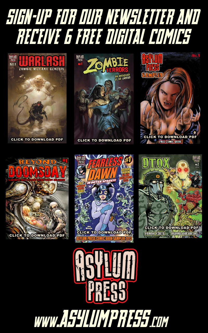 Sign-up for 6 FREE digital Comics