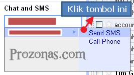 sms via Gmail