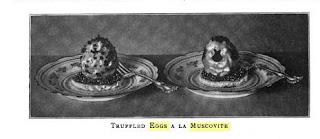 Truffled Eggs a la Muscovite