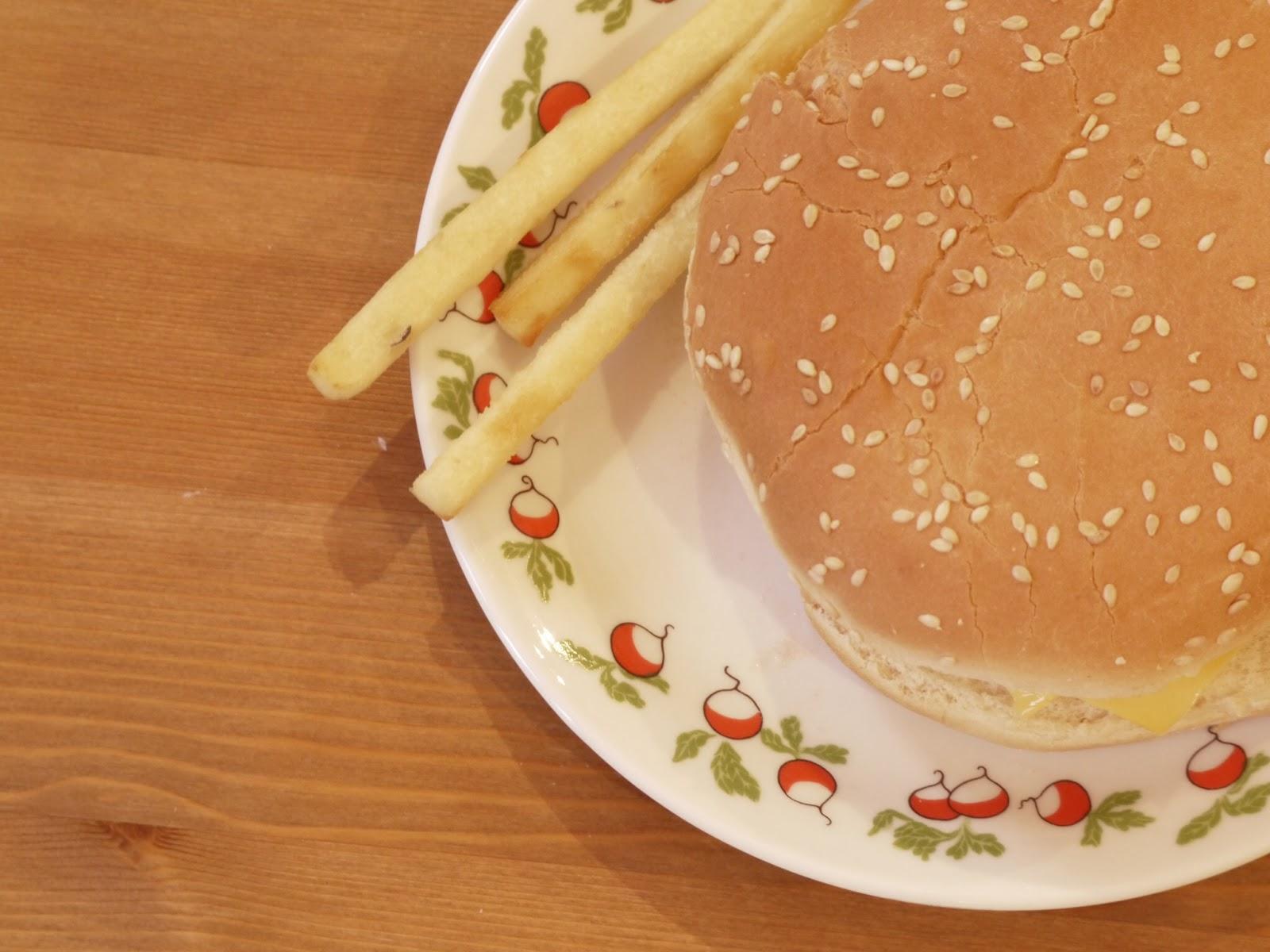 hamburger radis