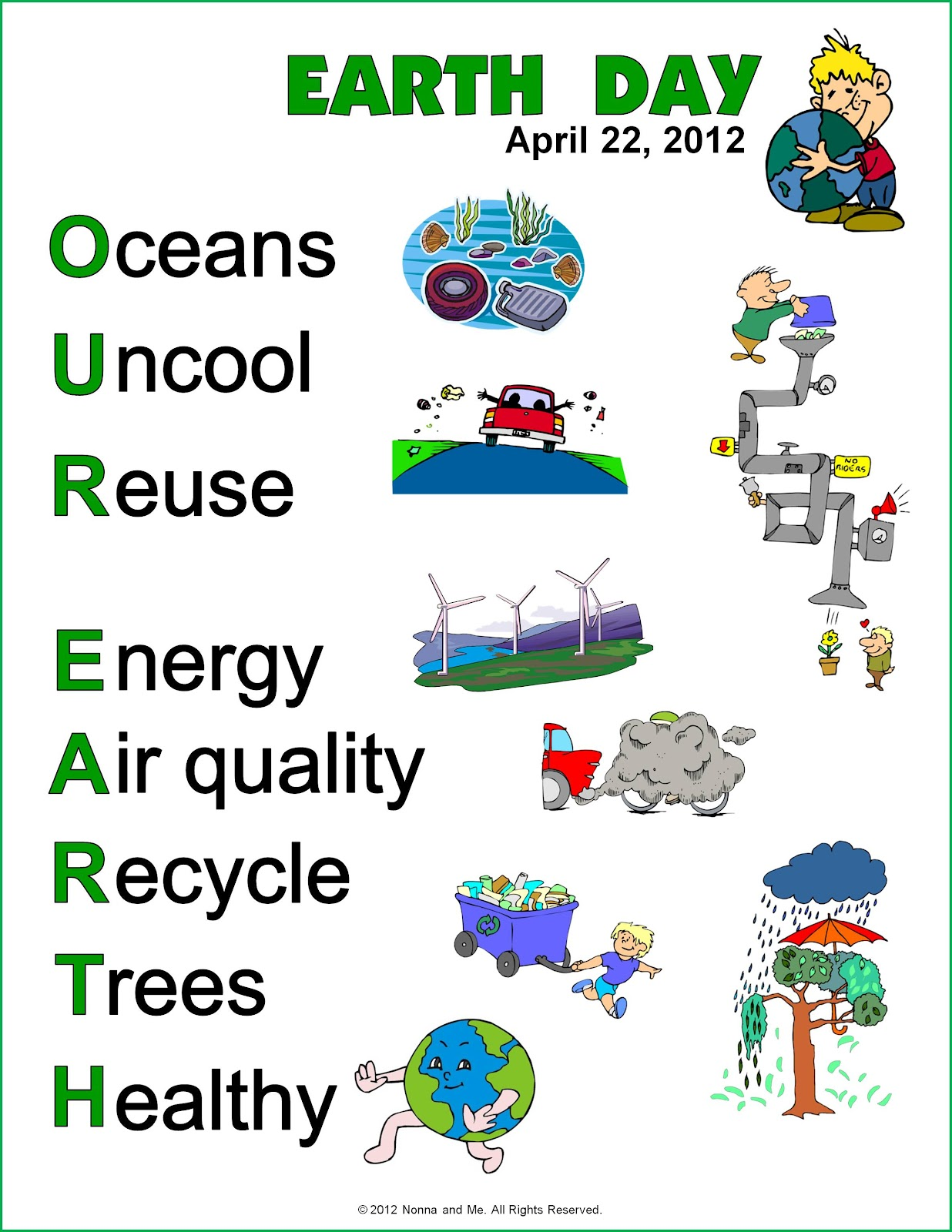 essay on earth day 2012