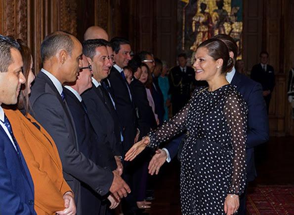 Crown Princess Victoria and Prince Daniel said farewell to the Tunisian President, Beji Caid Essebsi and wife Saida Caid Essebsi