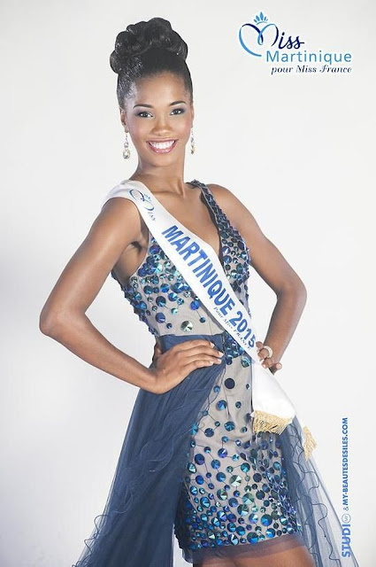 miss martinique 2015 robe gala