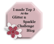 Glitter n Sparkle Top 3 (#65, #80, #84, #91, #96, #124 & #126)