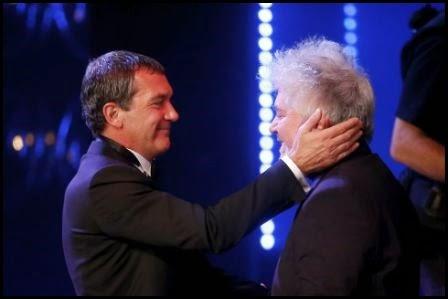 Premios Goya 2015: Antonio Banderas y Pedro Almodóvar