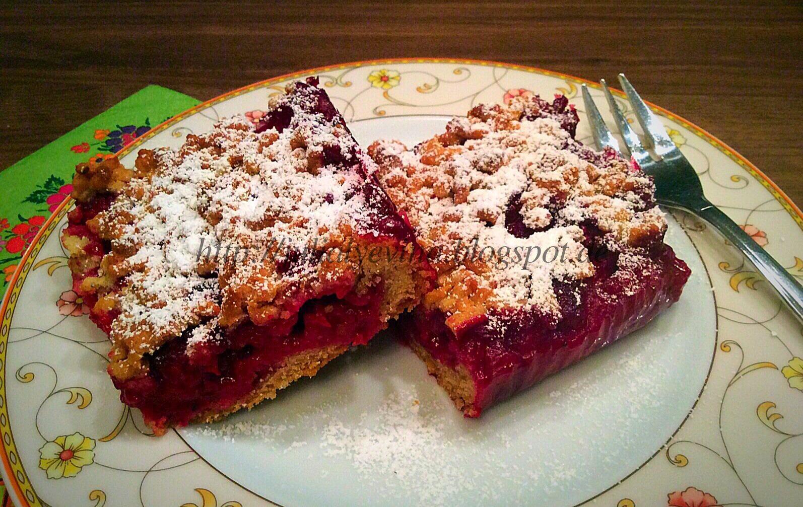 Пирог с ягодами замороженными рецепт пошагово