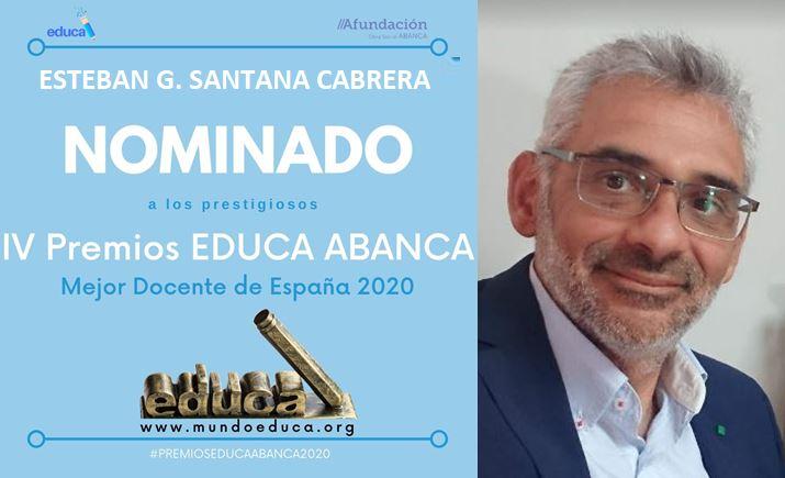 Nominado a mejor profesor de España 2020