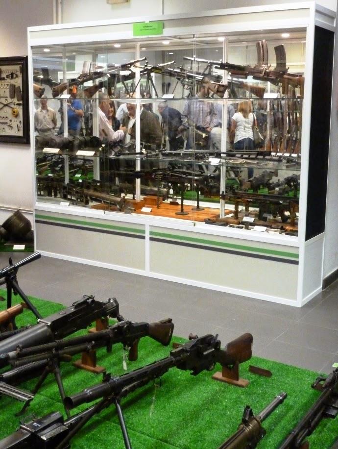 EXPOSICIÓN DE ARMAS DE LA FABRICA DE ARMAS DE LA VEGA