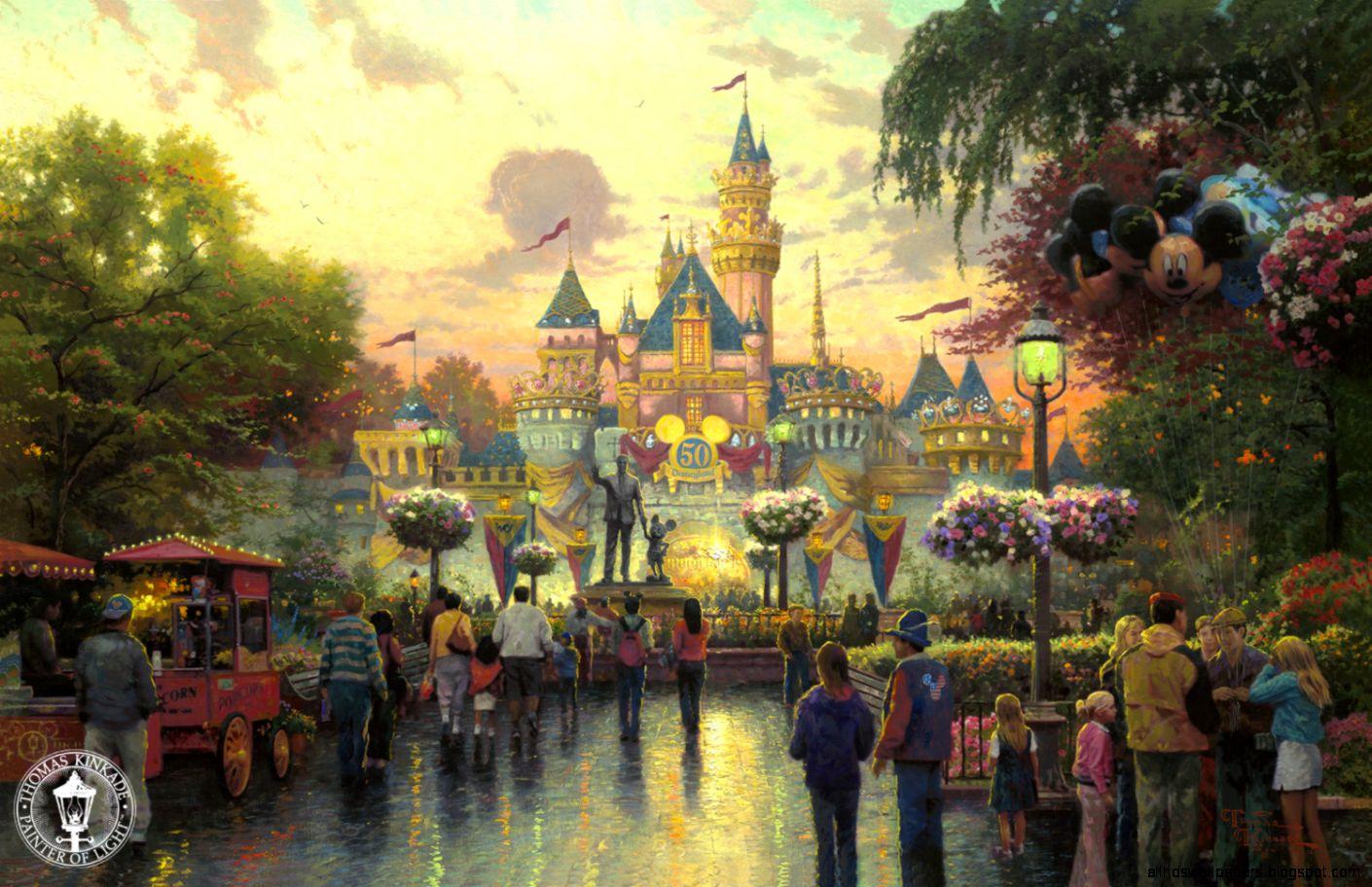 Thomas Kinkade  Disney  Magic  Thomas Kinkade  Pinterest
