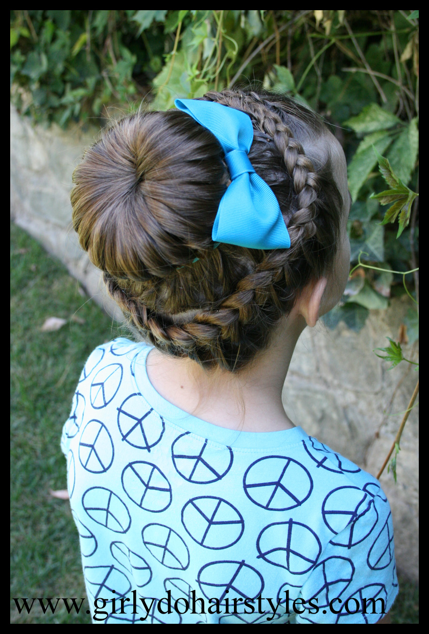Hairstyle Halo : Girly Do Hairstyles: By Jenn: Double Braid Halo Braid