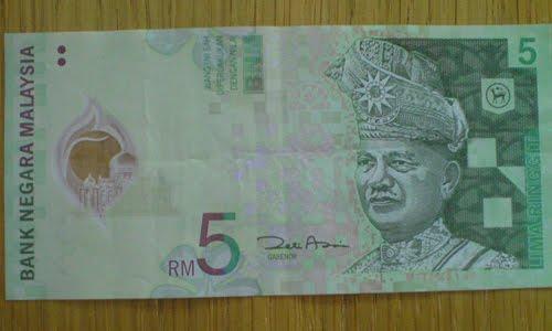 5 ringgit malaysia