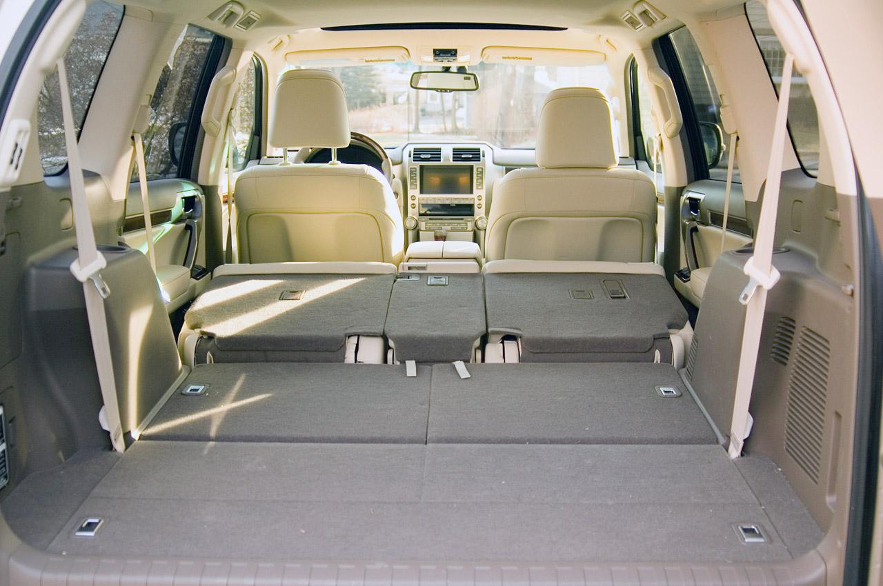 2011 LEXUS GX 460 SEAT DESIGN CONCEPT