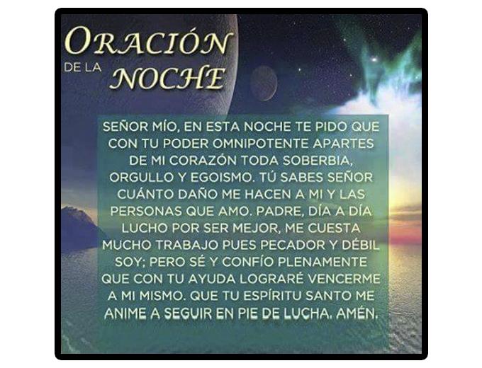 Oración de la noche, Oración al anochecer,