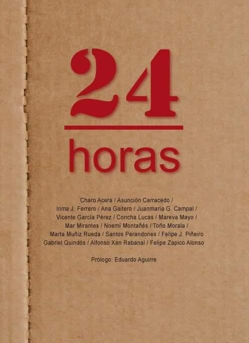 24 HORAS/encierro de escritores