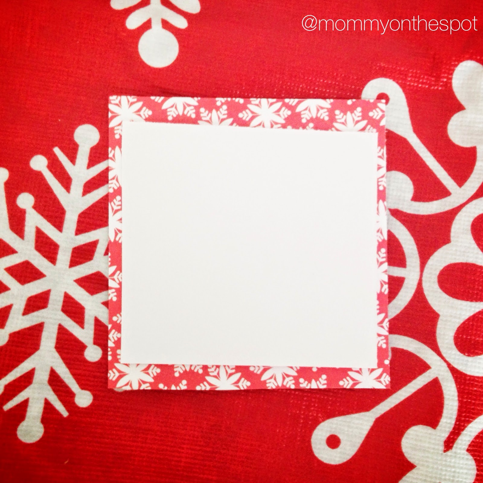 erin janda rawlings mommy on the spot diy christmas craft