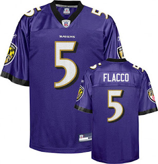 Joe Flacco Big and Tall Ravens Jersey