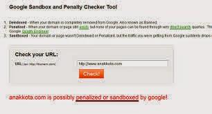 Rahasia Mudah Keluar Dari Google Sandbox